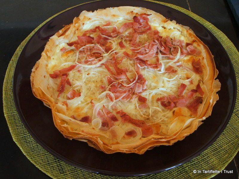 pizza brick jambon oignon