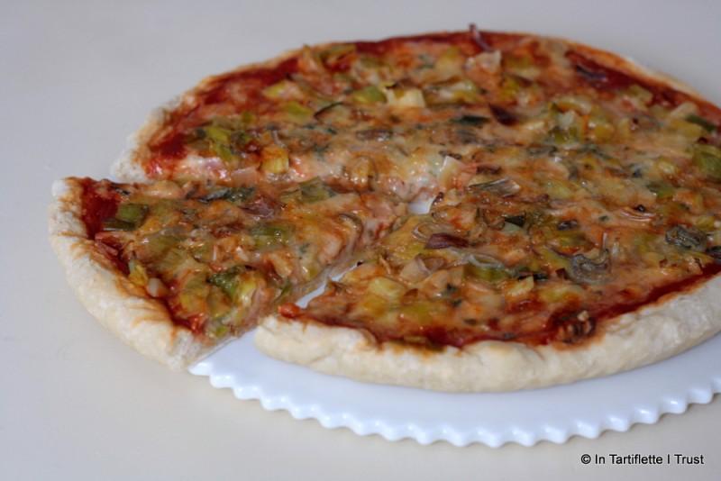 pizza bleu poireaux