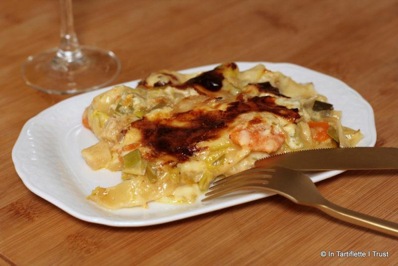 Lasagnes aux légumes d'hiver et cantal de Thiebault