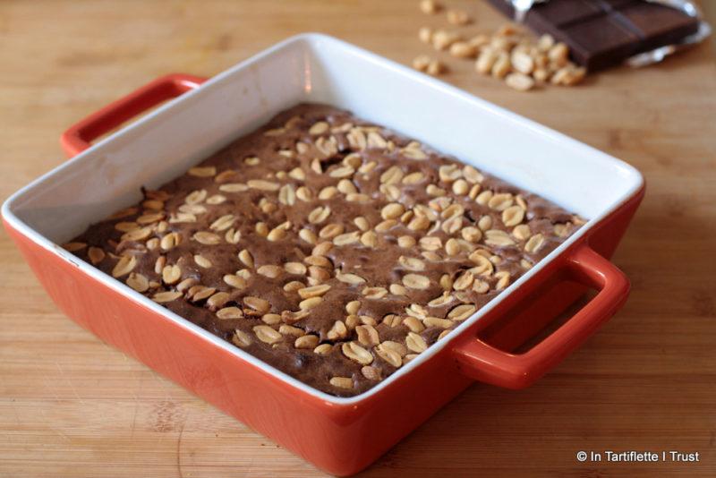 Brownie aux cacahuètes