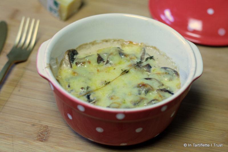 polenta champignon comte parmesan