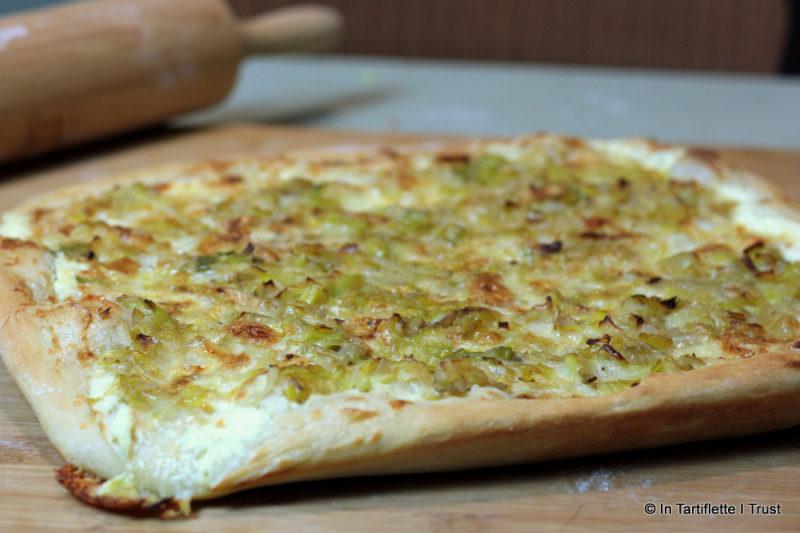 pizza poireaux maroilles