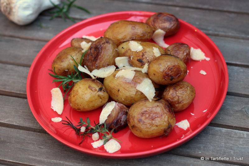 cocotte pomme de terre ail romarin