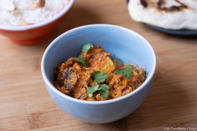 curry indien paneer