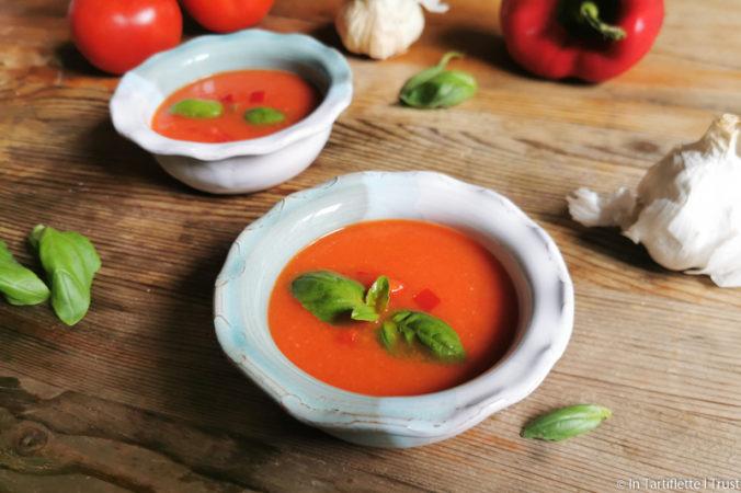 gaspacho tomates poivron