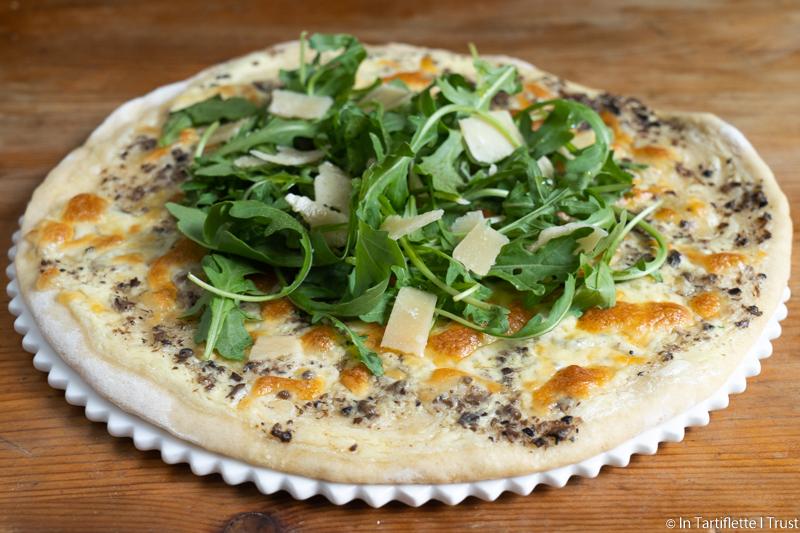 pizza truffe parmesan